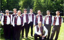The male singing group GUBOV