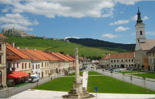 Historical centre of the town called Spisske Podhradie